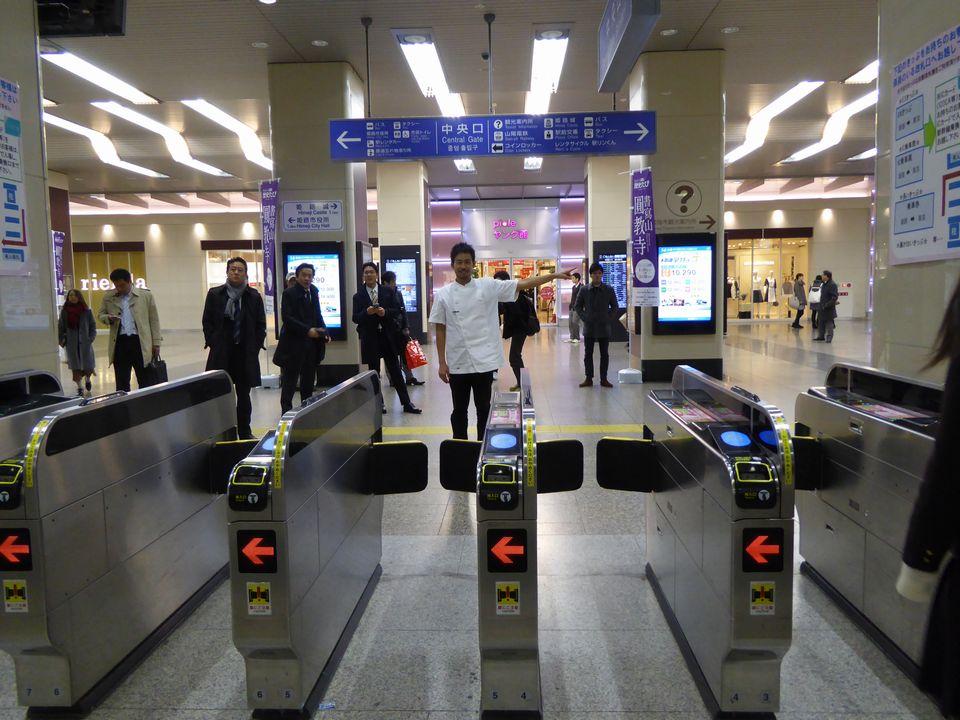 姫路駅中央口を出て右折